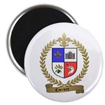 CARRIERE Family Crest Magnet