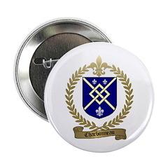CHARBONNEAU Family Crest Button