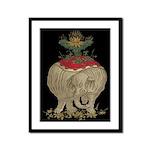 Decorative Asian Elephant 2 Framed Print