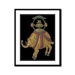 Decorative Asian Elephant Framed Print