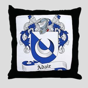 Adair Family Crest Throw Pillow