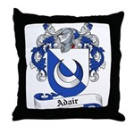 Adair Family Crest Throw Pillow
