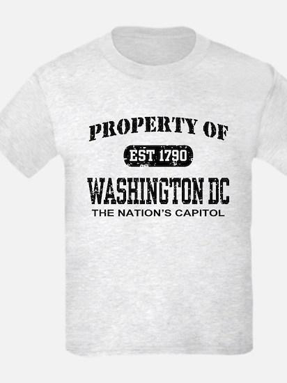 Property of Washington DC T-Shirt