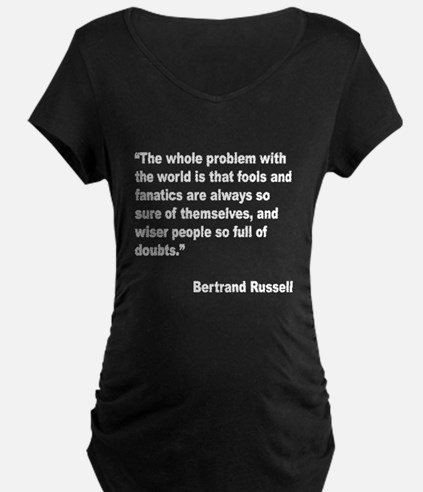 Russell Fools Fanatics Quote (Front) T-Shirt