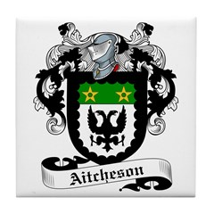 Aitcheson Family Crest Tile Coaster