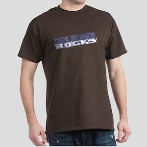 Cook Islands Rocks Dark T-Shirt