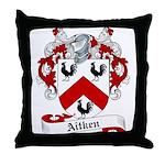 Aitken Family Crest Throw Pillow