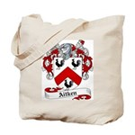 Aitken Family Crest Tote Bag
