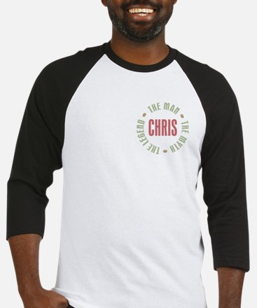 Chris Man Myth Legend Baseball Jersey