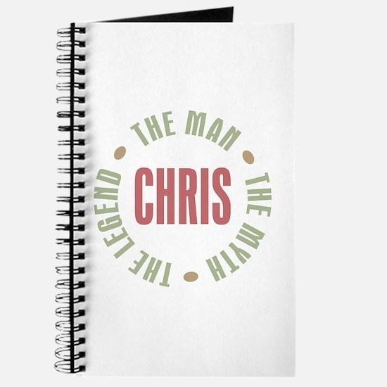 Chris Man Myth Legend Journal