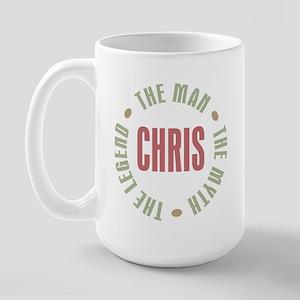Chris Man Myth Legend Large Mug