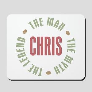 Chris Man Myth Legend Mousepad