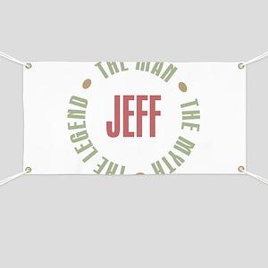 Jeff Man Myth Legend Banner
