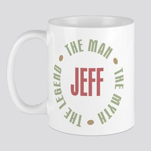 Jeff Man Myth Legend Mug