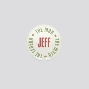 Jeff Man Myth Legend Mini Button