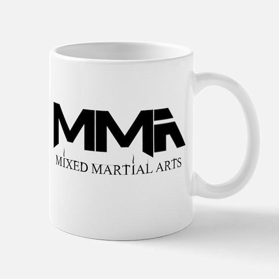 MMA Mixed Martial Arts Black Mug