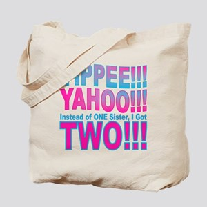 Yippee Twins - Sisters Tote Bag