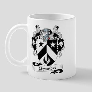 Alexander Family Crest Mug