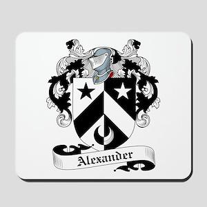 Alexander Family Crest Mousepad