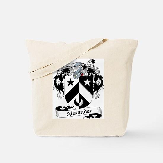 Alexander Family Crest Tote Bag