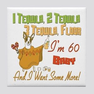 Tequila 60th Tile Coaster