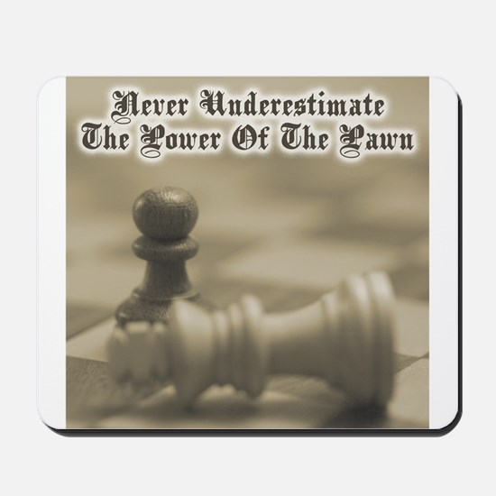 Chess Quote Vintage 3 Mousepad
