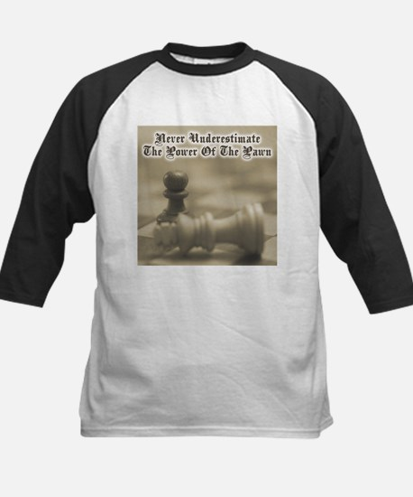 Chess Quote Vintage 3 Kids Baseball Jersey