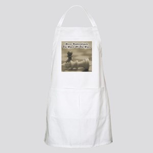 Chess Quote Vintage 3 BBQ Apron