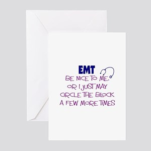 EMT/PARAMEDICS Greeting Cards (Pk of 20)
