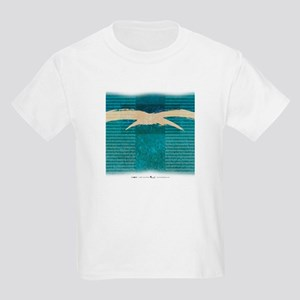 Swash + Cadence in Teal Kids T-Shirt