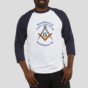 Meridian #6 Prince Hall F&AM Baseball Jersey
