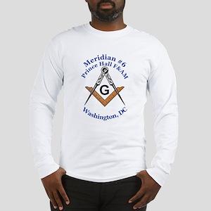 Meridian #6 Prince Hall F&AM Long Sleeve T-Shirt