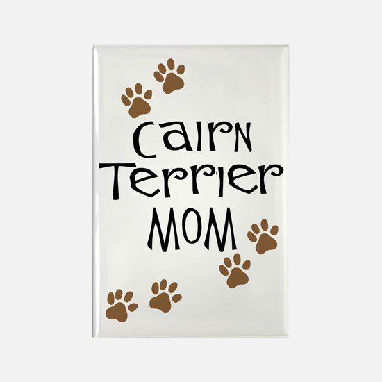 Cairn Terrier Mom Rectangle Magnet