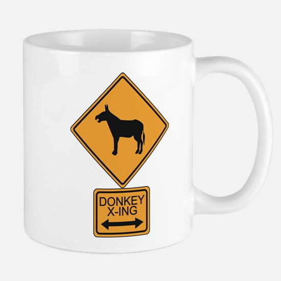 Donkey X-ing Mug