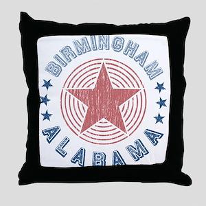 Birmingham Alabama Souvenir Throw Pillow