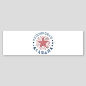 Birmingham Alabama Souvenir Bumper Sticker