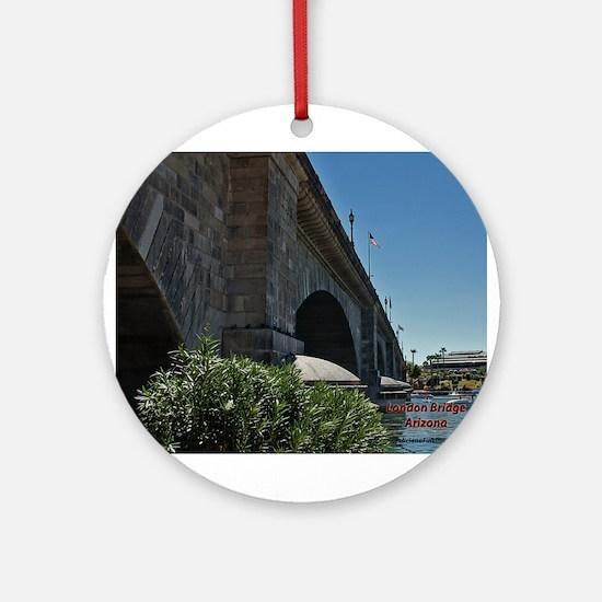 London Bridge Ornament (Round)
