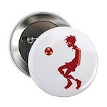"""Soccer Boy 2.25"""" Button (10 pack)"""