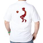 Soccer Boy Golf Shirt
