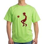 Soccer Boy Green T-Shirt