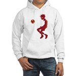 Soccer Boy Hooded Sweatshirt