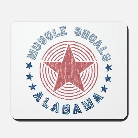 Muscle Shoals, Alabama Souvenir Mousepad