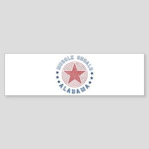 Muscle Shoals, Alabama Souvenir Bumper Sticker