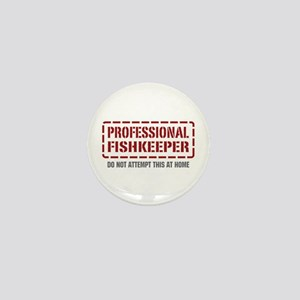 Professional Fishkeeper Mini Button