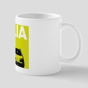 Italia - Fiat - chartreuse Mug