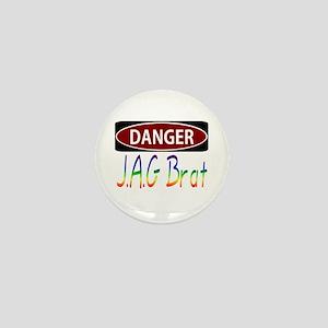 danger Mini Button