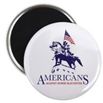 Americans Against Horse Slaughter Magnet