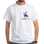 Americans Against Horse Slaughter White T-Shirt