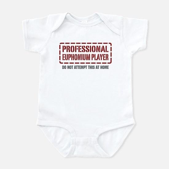Professional Euphonium Player Infant Bodysuit