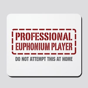 Professional Euphonium Player Mousepad